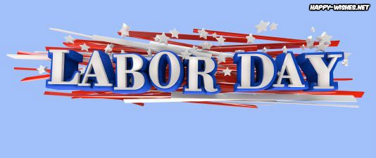 large dimension Labor day Banner images