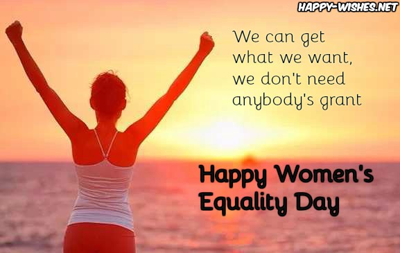 Women Equality Day messagesWomen Equality Day messages