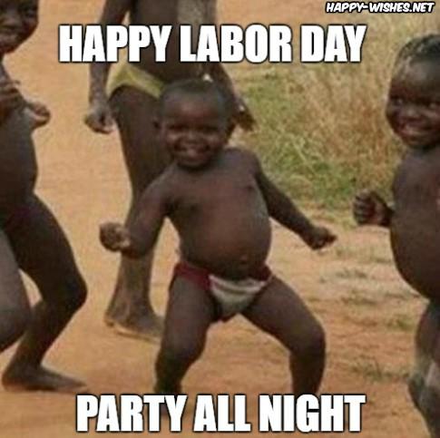 funny nigga Labor Day Meme