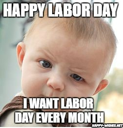 kid Labor Day Meme