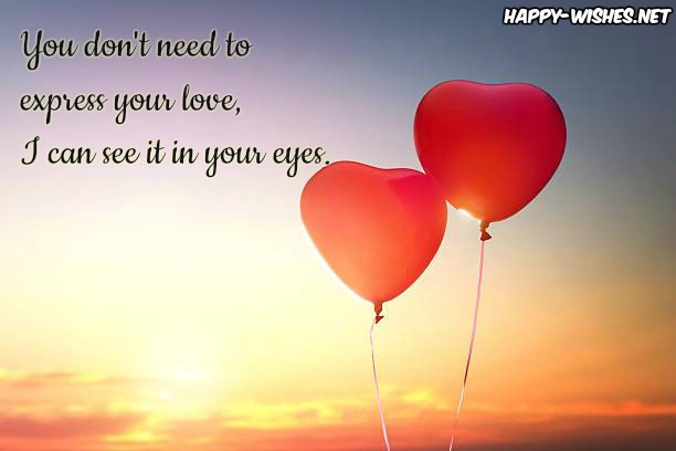 love baloons love quotes for him from the heart