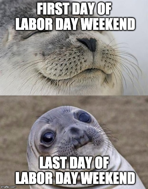 First and last day of labor day weekend