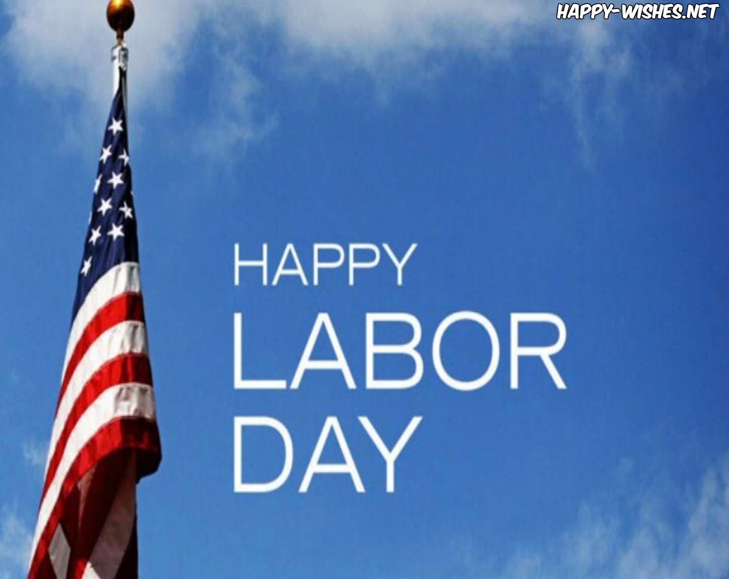 Labor Day Flag images with flag flying