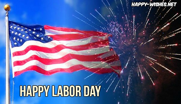 Labor Day Flag images with celebration
