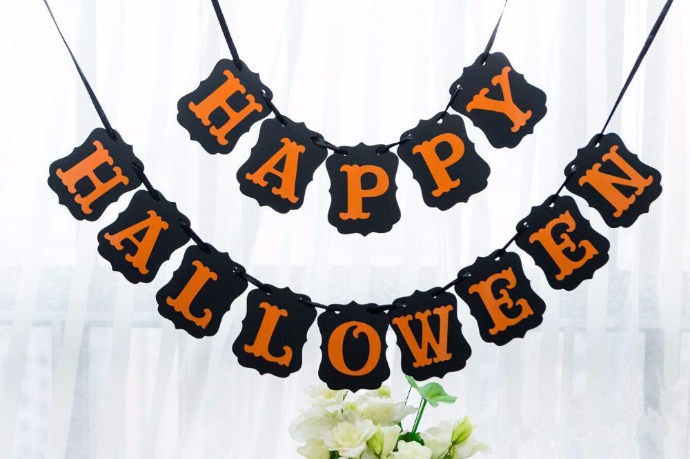 Landscape banner images on Halloween
