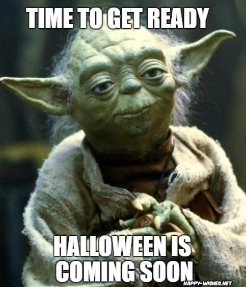 Funny Ghost meme on Halloween