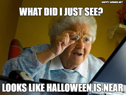 Hallowen coming soon memes
