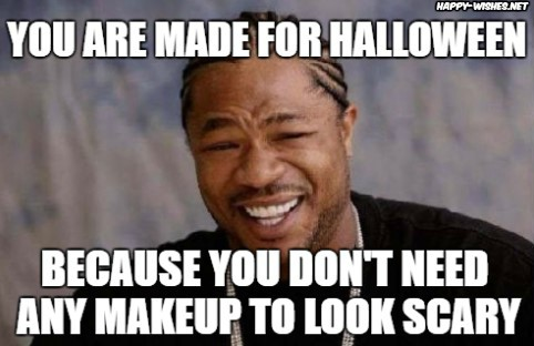 Making fun of Halloween memes