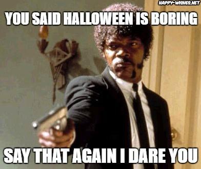 sarcastic halloween memes