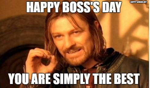 Boss Day Meme