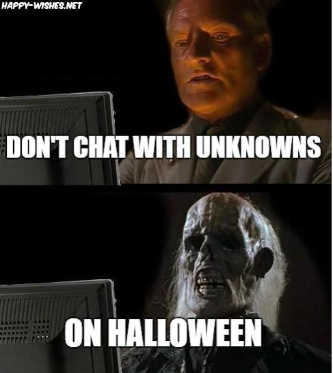 Best scary halloween memes