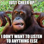 Gorilla Cheer up memes