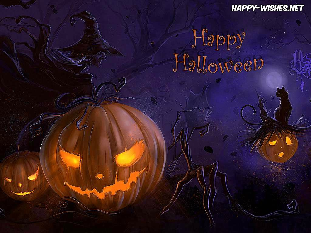 IMAGES OF Scary Jack o lanterns in Halloween