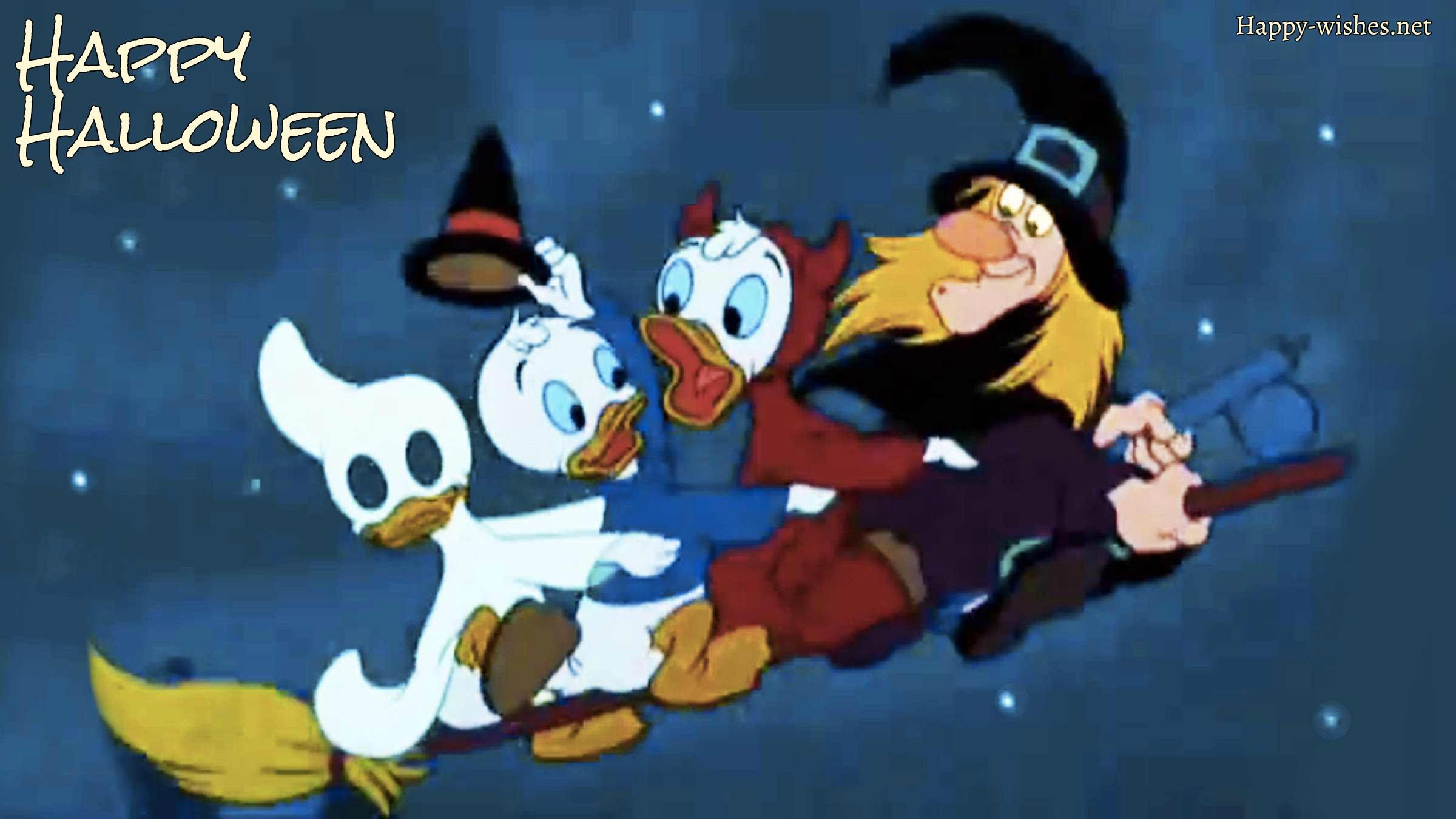 Donald duck Halloween Images