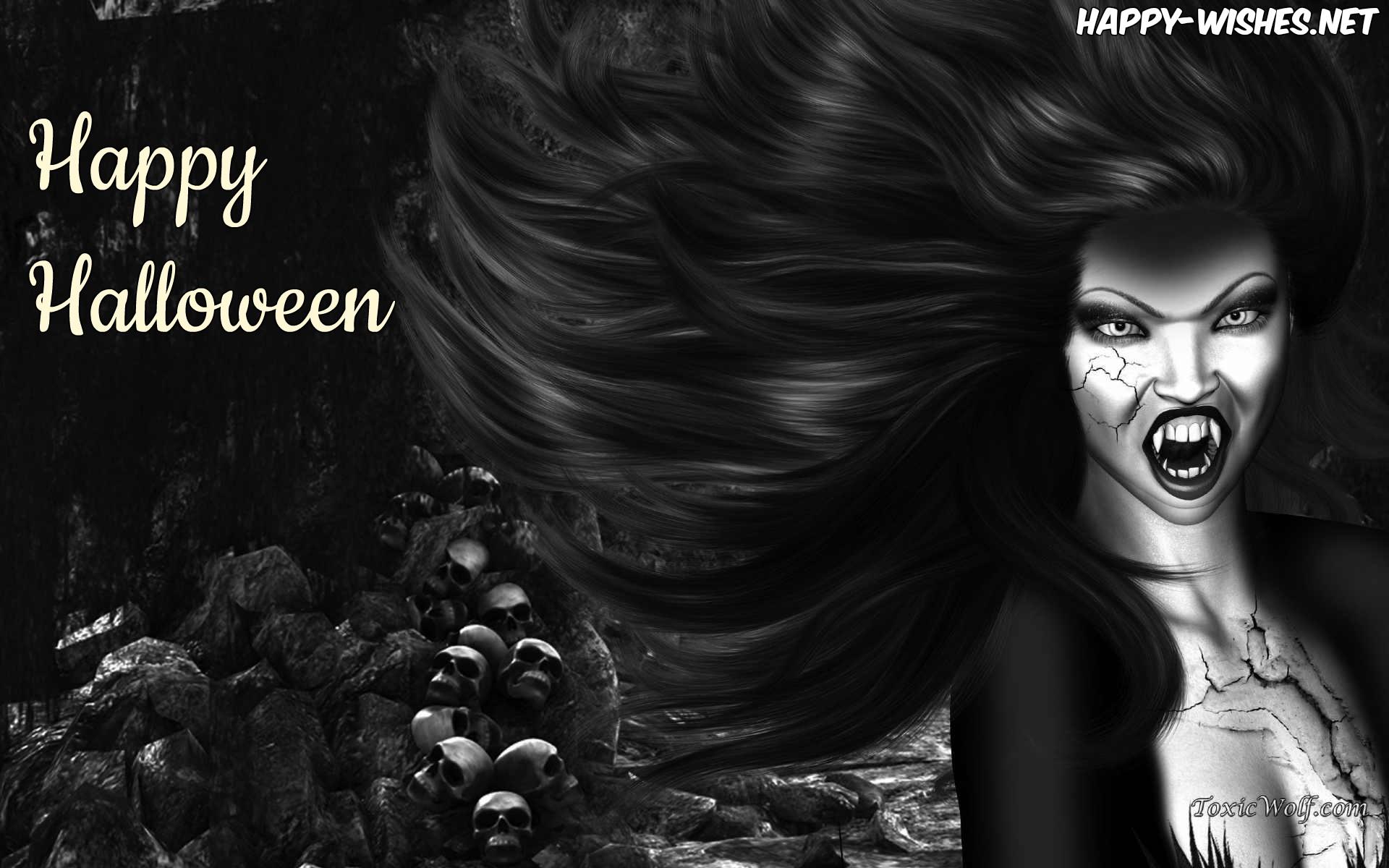 Scary Women Halloween Image
