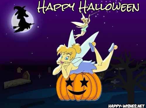 Happy halloween Witch Cartoon Image