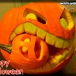 Pumpkin eating other Pumpkin Halloween images