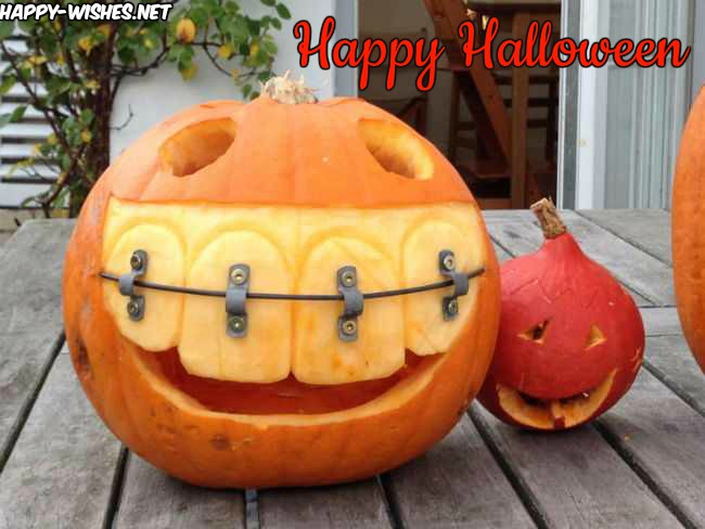 Funny Images of Pumkin on Halloween