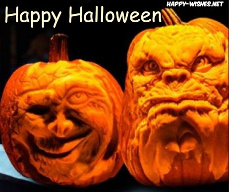 Fearfull Halloween Pumpkin Images