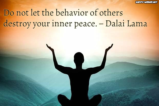 Mediatation quotes for inner peace