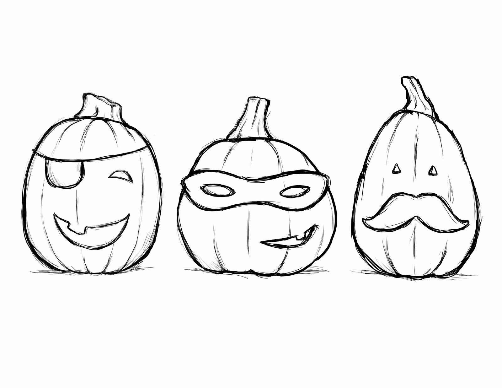 Printable images of the Halloween
