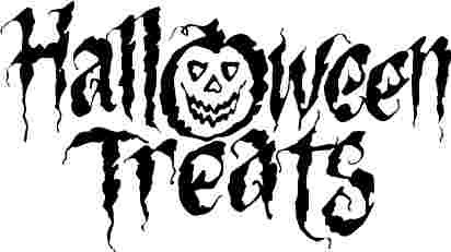 Scary clip art images on Halloween