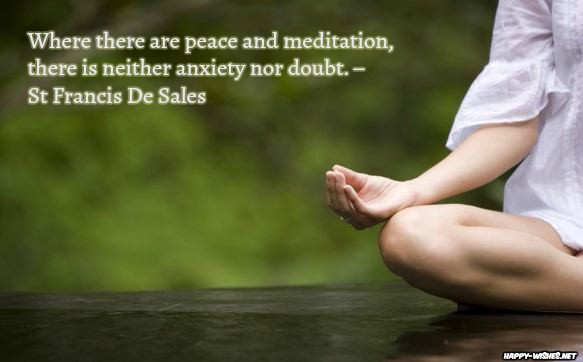 Meditation quotes to make you Stress Free