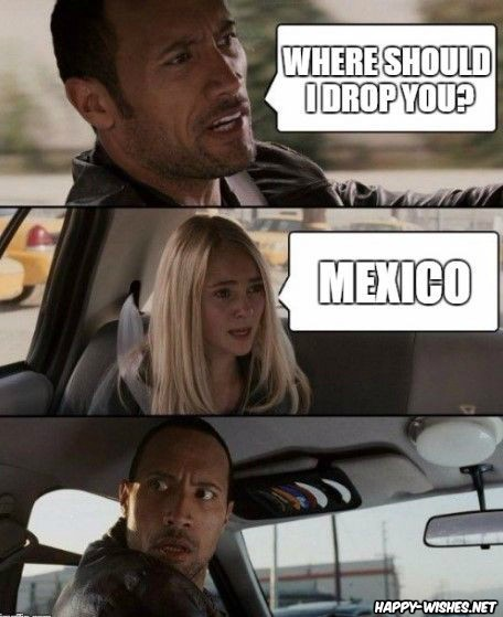 Funny memes on Mexican People