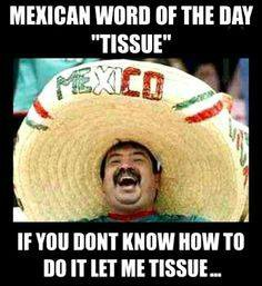 Mexican Word Meme