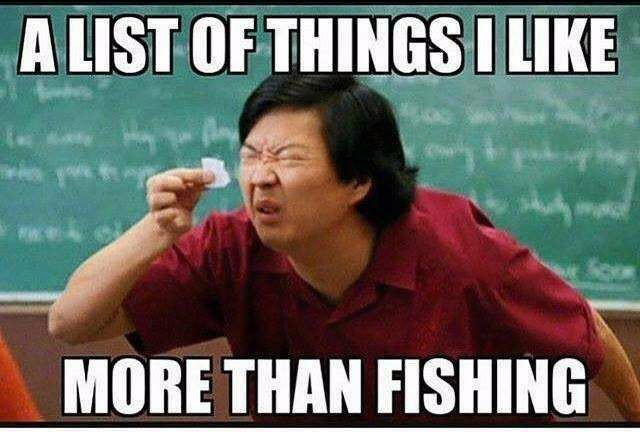 Passionate For fishing memes