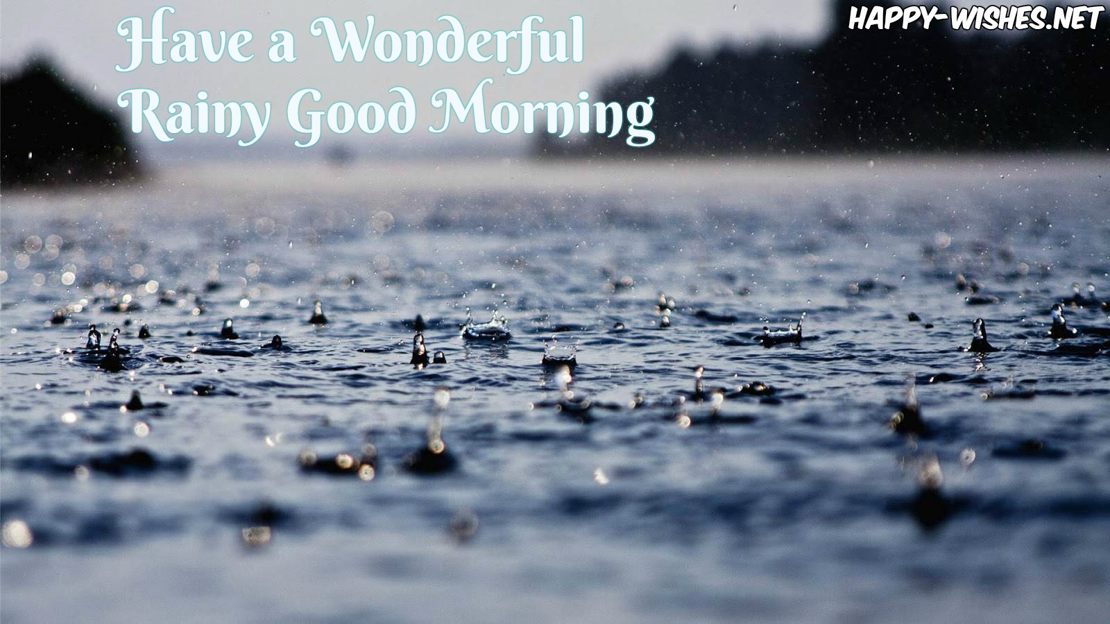 Best Good morning images on Rainy dAY