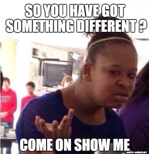 Funny Black Girl meme