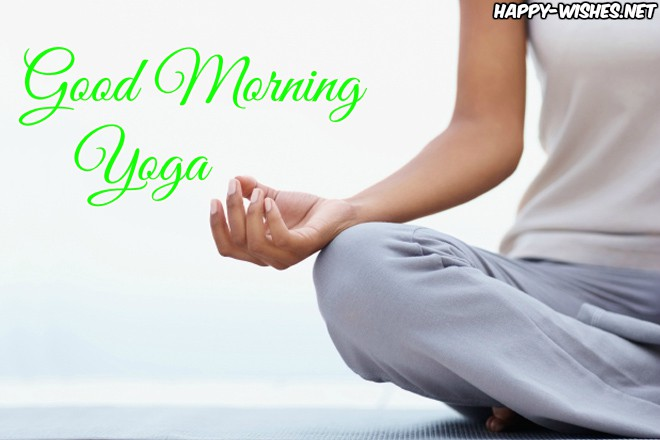 Good Morning Yoga Images With Peace Of Mind Quotes