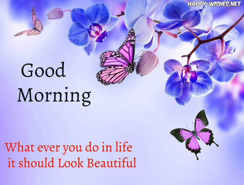 Good Morning Butterfly wishes