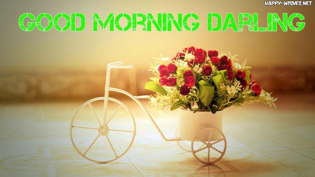 Good Morning Darling cute images