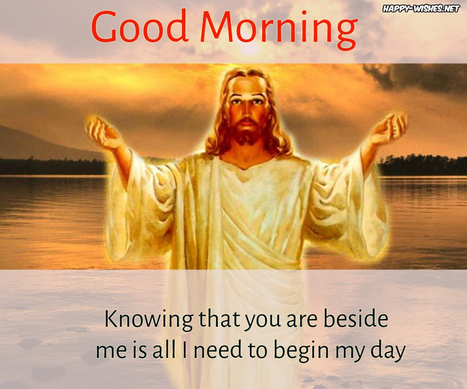 Good Morning Jesus Wishes Images