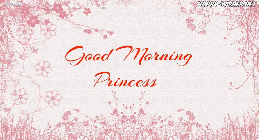 Good Morning Princess Images