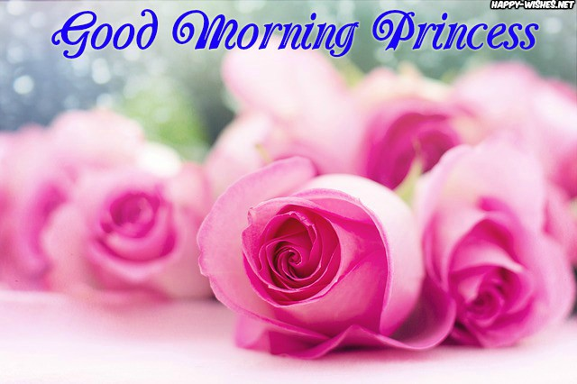 Good Morning Princess Wishes with best background images