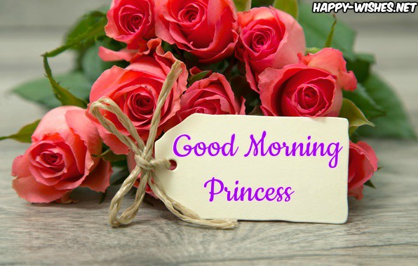 Good Morning Princess with Card images