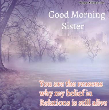 Good Morning Sister Best Back ground images