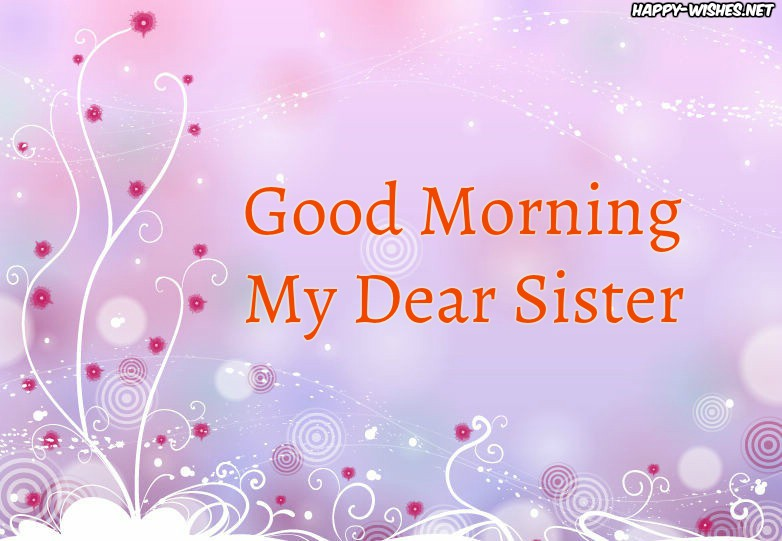 Good Morning Sister Best Images