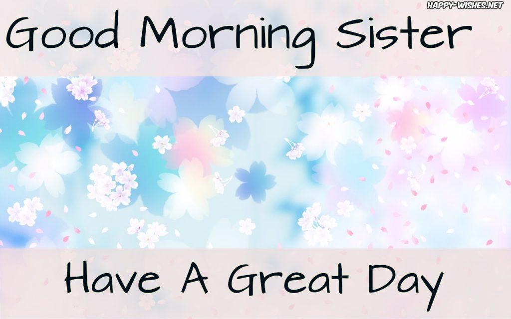 Good Morning Sister lovely BackGround Images
