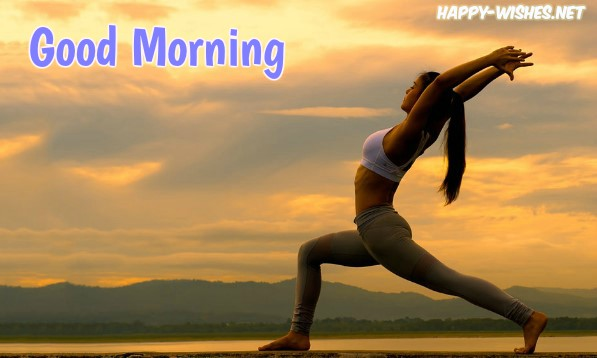 Good Morning Wishes for yoga lovers