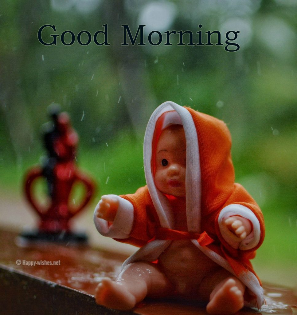 Good Morning Wishes with Baby Images
