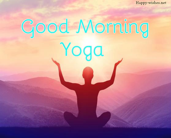 Good Morning Yoga Spirtual Images