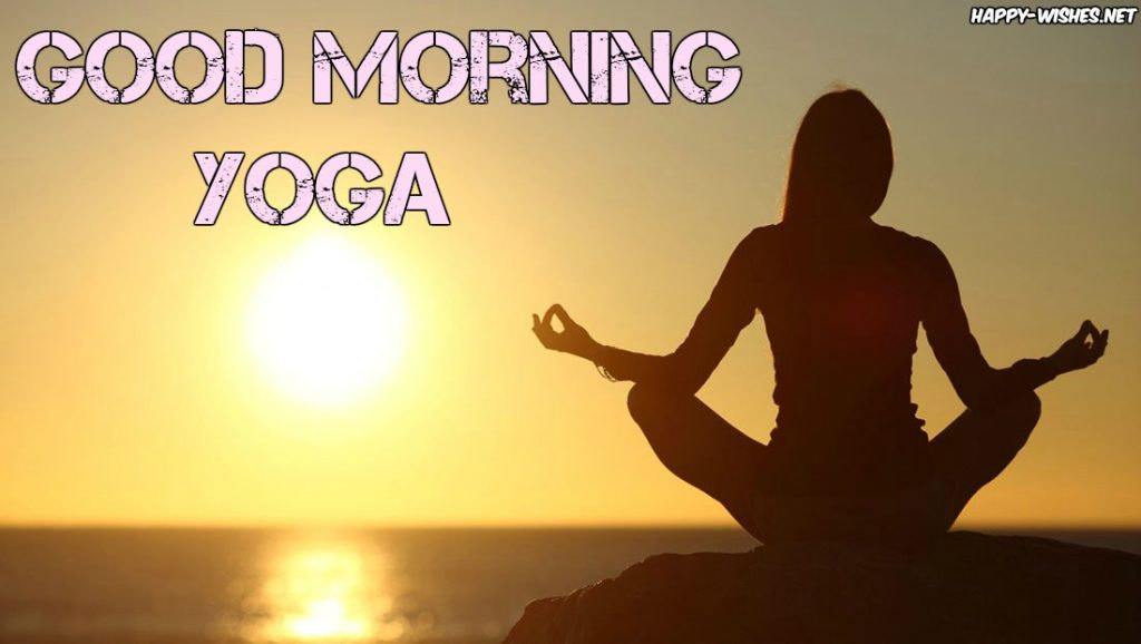 Good Morning Yoga Wishes Images