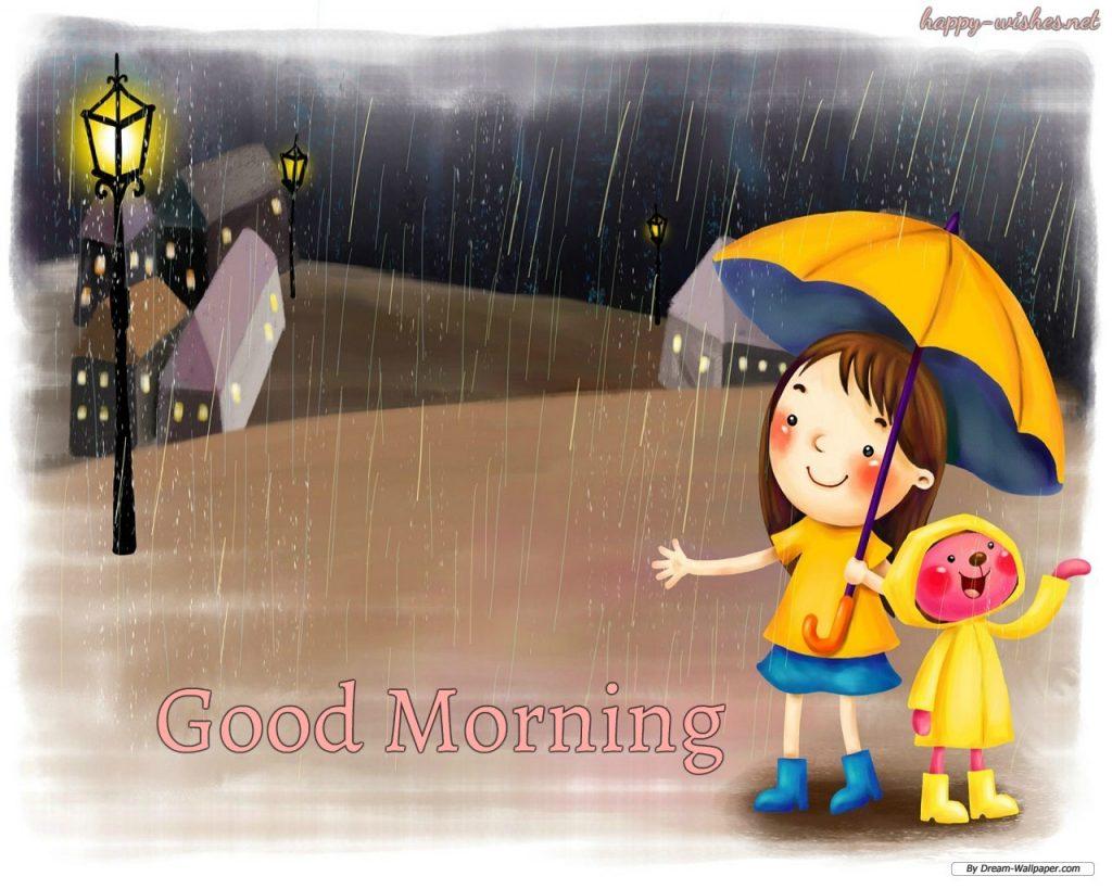 Good Morning in rainy days image