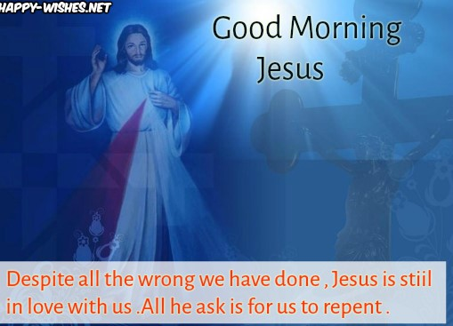 Good Morning jesus Stay Blessed