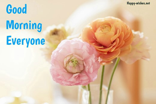 Good Morning wishes cute flower Background images