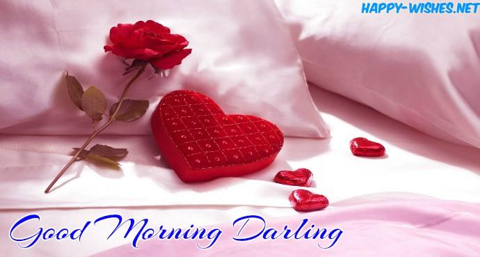 Good morning Darling heart images